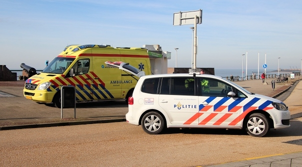 Fietser gewond bij ongeluk Vlissingen.