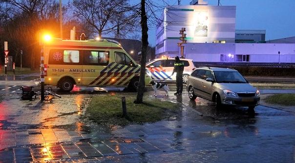 Fietsster gewond bij ongeval Middelburg.