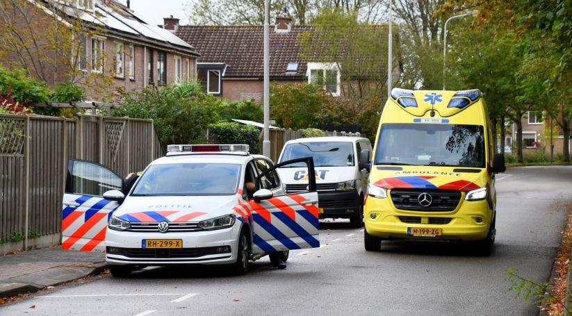 Vrouw gewond bij ongeluk Spinellihof Goes.