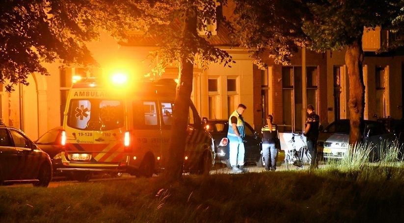 Letsel bij ongeluk Noordsingel Middelburg.