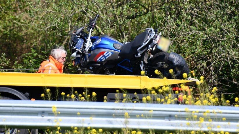 Motorrijder gewond bij botsing op A58 Rilland.