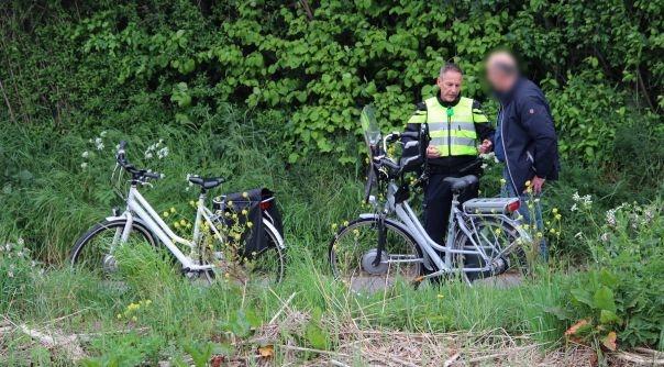 Gewonde bij fietsongeluk in Yerseke.