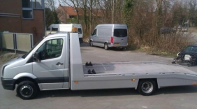 Autotransporter gestolen in Brouwershaven