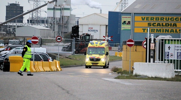 Dodelijk bedrijfsongeval haven Nieuwdorp