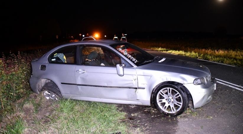 Eenzijdig ongeluk Stavenisseweg Stavenisse.