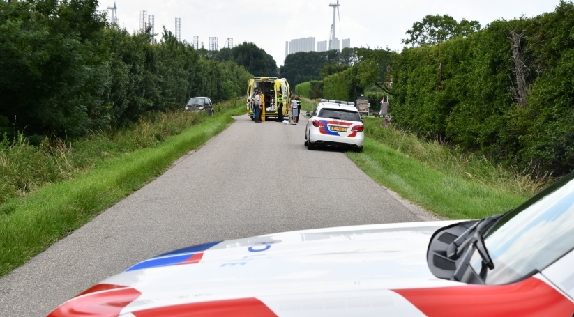 Gewonde bij eenzijdig ongeluk Lewedorp.