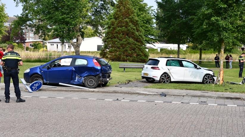 Ernstig ongeluk Vlissingen, traumaheli ter plekke.