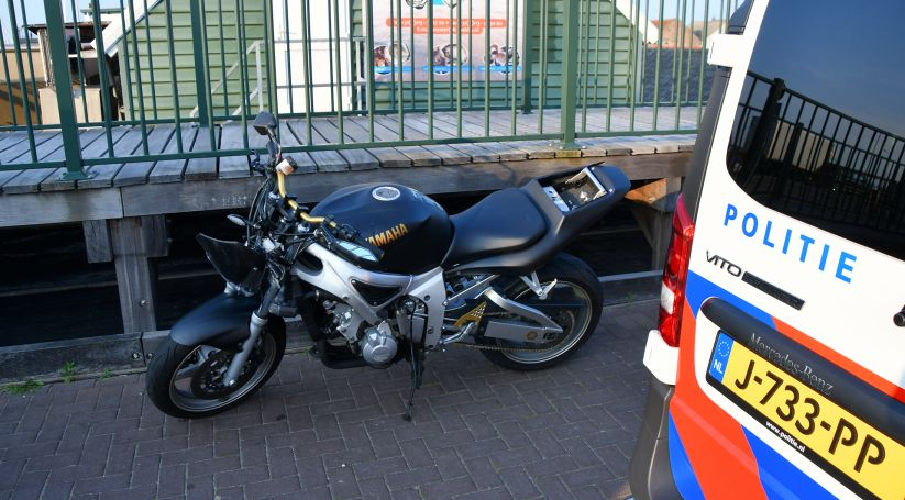 Motorrijder gewond bij botsing in Yerseke.