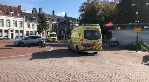 Man overleden na fietsongeluk Middelburg.