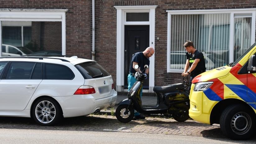 Scooterrijder gewond bij ongeluk in Vlissingen.
