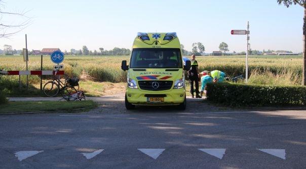 Fietssters gewond bij botsing Gapinge.