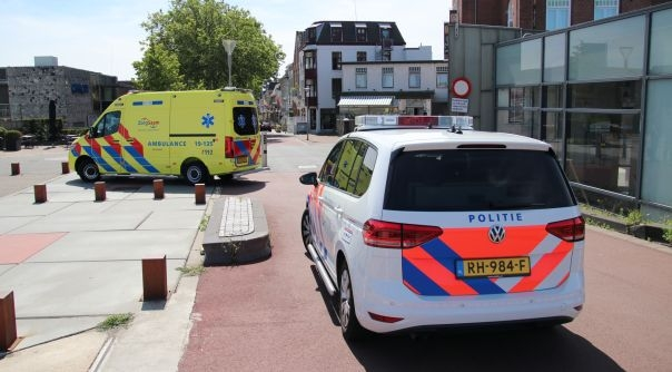 Gewonde bij ongeluk centrum Terneuzen.