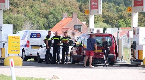 Aanrijding Serooskerkseweg Serooskerke.