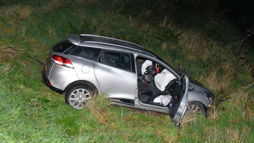 Automobilist ongeluk N656 had geen geldig rijbewijs.