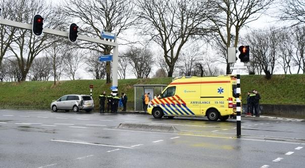 Botsing Nieuwe Vlissingseweg Vlissingen.