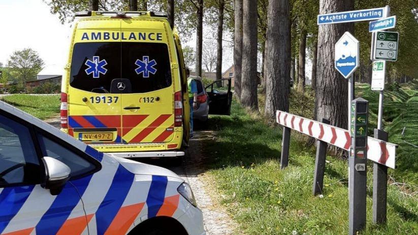 Fietser gewond bij aanrijding met auto Hulst.