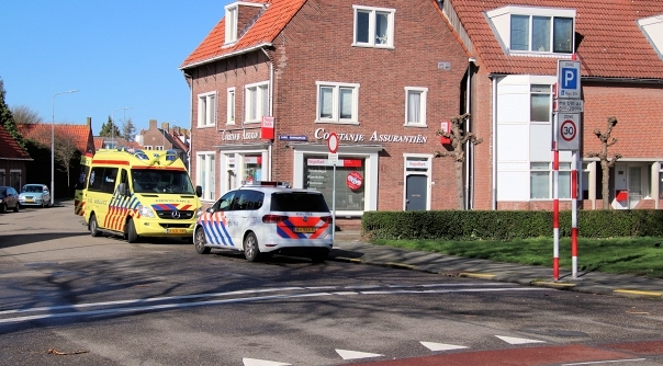 Gewonde bij ongeluk in Middelburg.