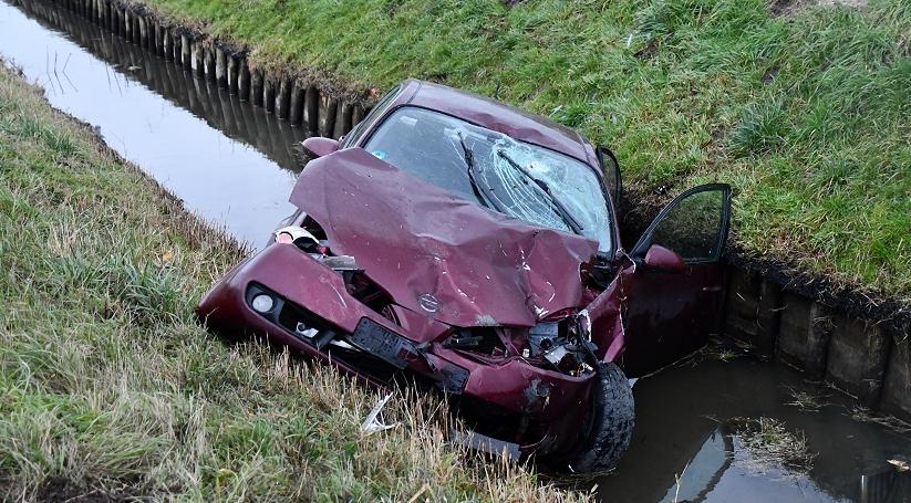 Forse schade bij ongeluk A58 Rilland.