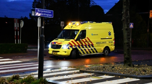 Gewonde bij ongeval Oost-Souburg.