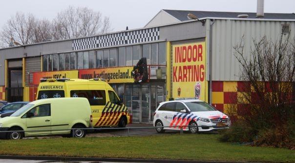 Gewonde bij botsing op kartbaan Middelburg.