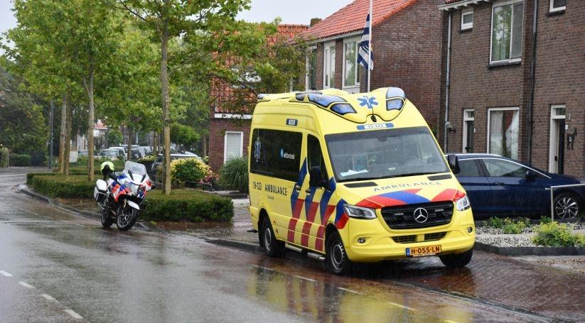 Melding ongeval letsel in Koudekerke.