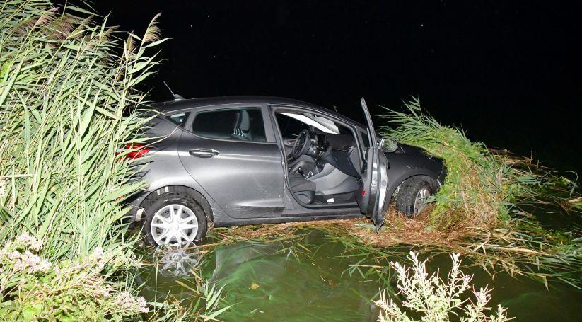 Gewonde bij ongeluk Oesterdam Rilland.