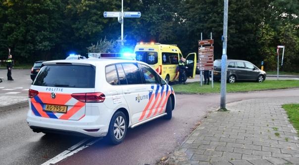 Fietser aangereden op rotonde Vlissingen.