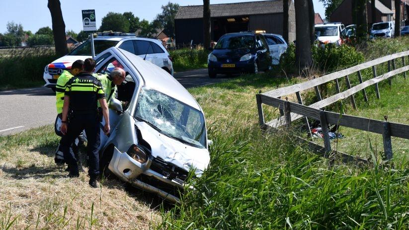Gewonde bij ernstig verkeersongeluk in Tholen.