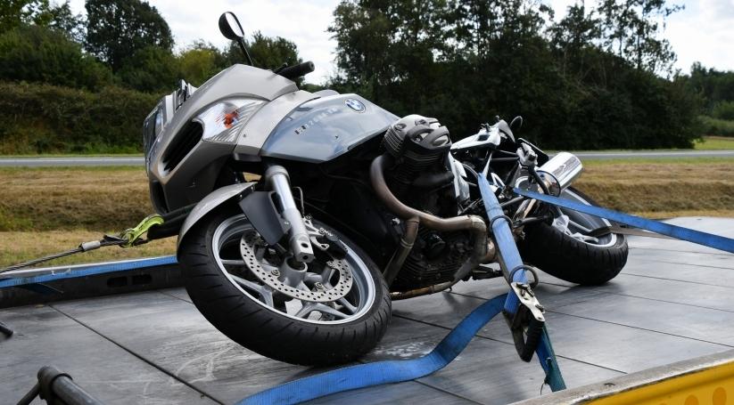 Motorrijder gewond bij ongeluk Hulst.