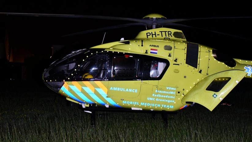Traumahelikopter ingezet bij incident #Hansweert:.