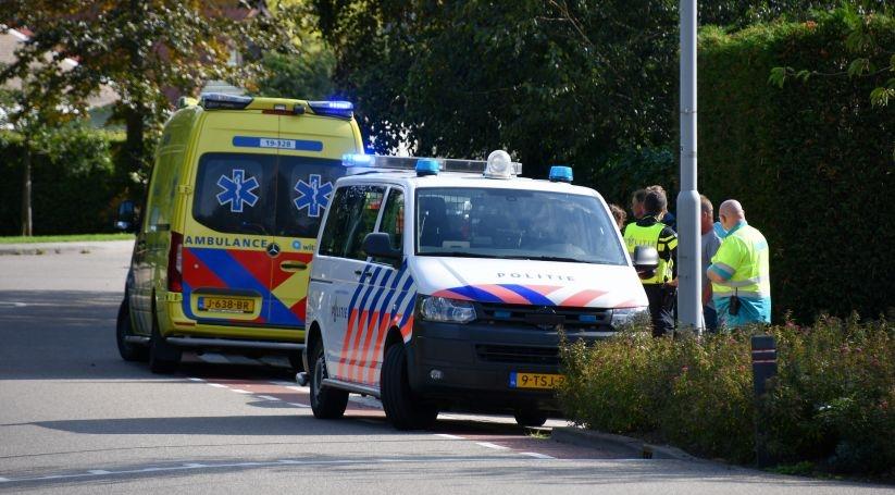 Fietser gewond bij aanrijding in Kapelle.
