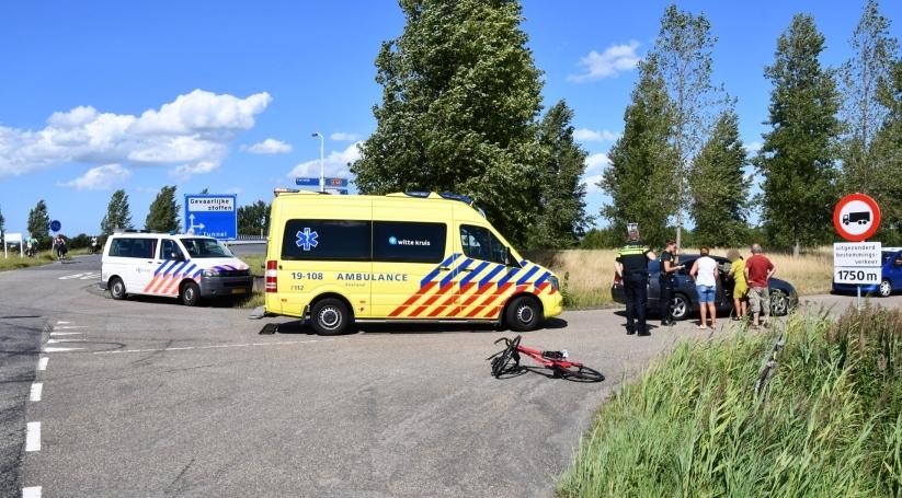 Wielrenner gewond bij ongeluk Kapelle.