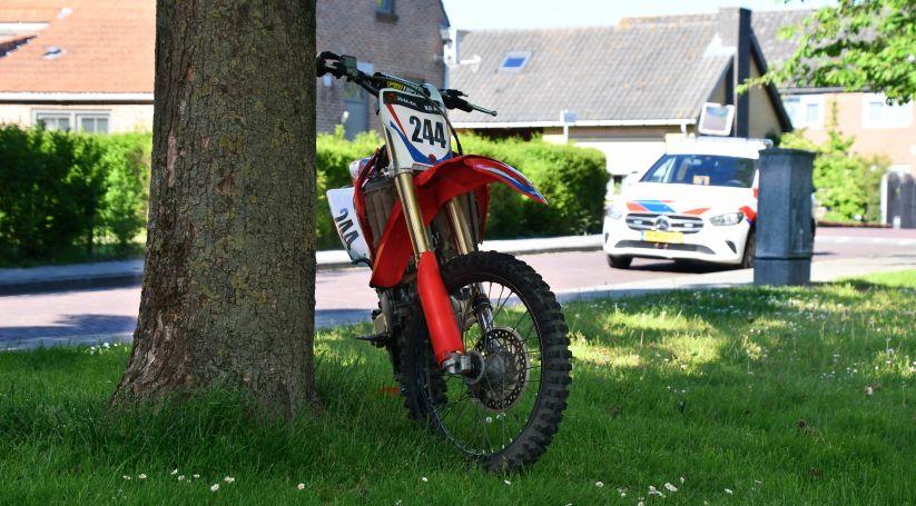Bestuurder crossmotor gewond bij aanrijding Aardenburg.