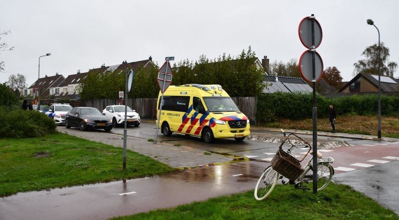 Fietsster gewond bij botsing in Vlissingen.