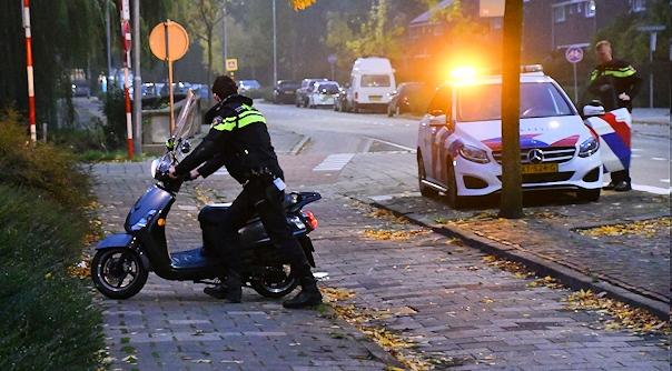 Verkeersongeluk met snorscooter Vlissingen.