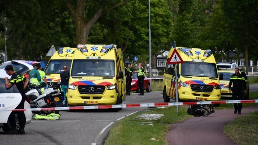 Slachtoffer ongeluk Vlissingen overleden.