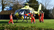 Traumahelikopter ingezet in Kapelle