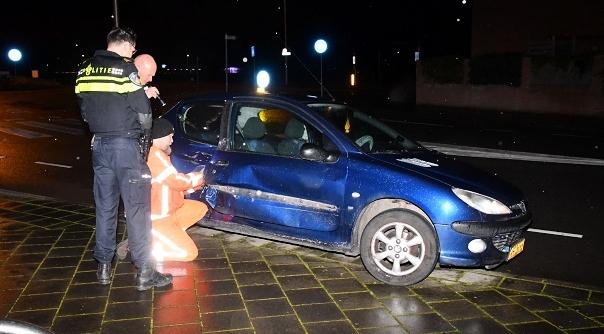 Brandweer assisteert bij ongeluk Middelburg.