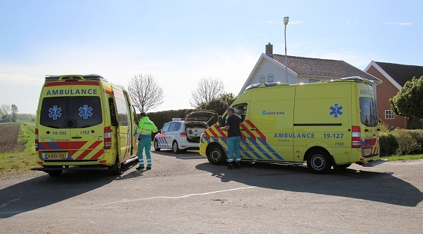 Twee gewonden bij ongeluk 's-Heerenhoek.