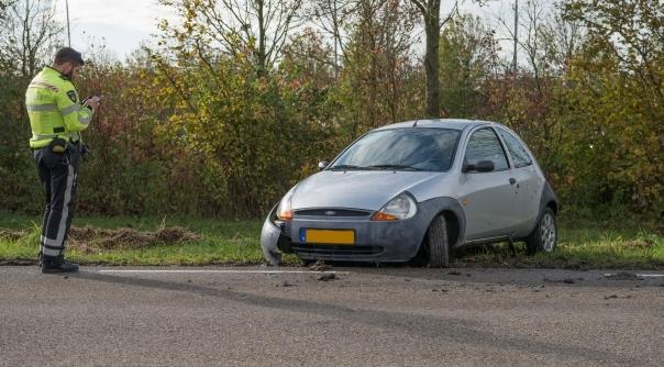 Schade bij ongeluk Sint Philipsland.