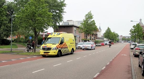 Gewonde bij ongeluk in Vlissingen.