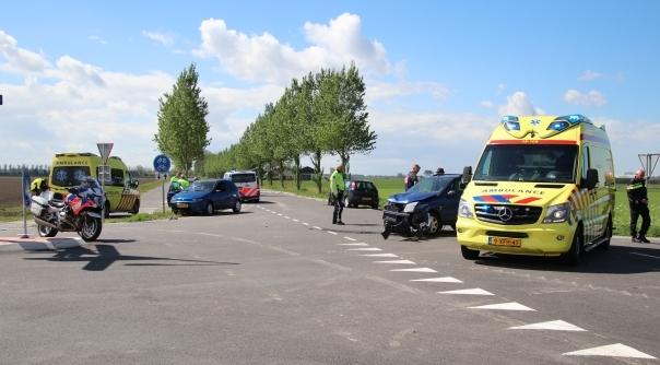 Gewonden bij botsing in Colijnsplaat.
