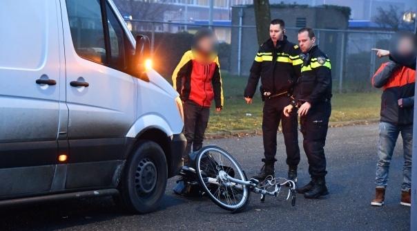 Fietser aangereden in Middelburg.