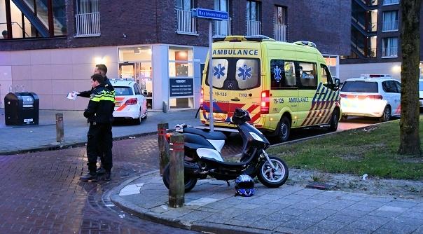 Ongeval met scooter in Middelburg.