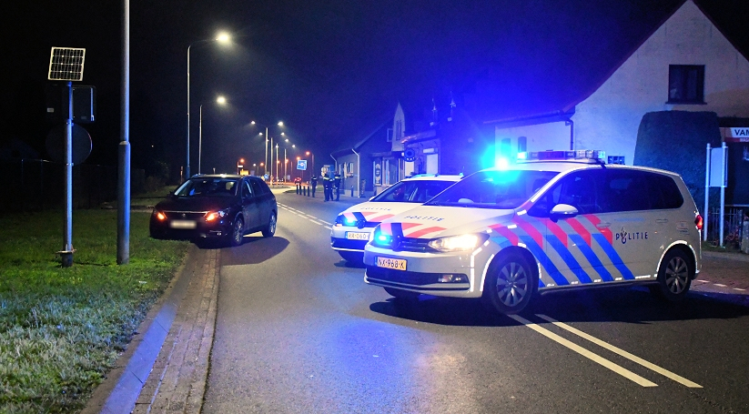 Wegafsluiting na ernstig ongeluk in Kapellebrug.