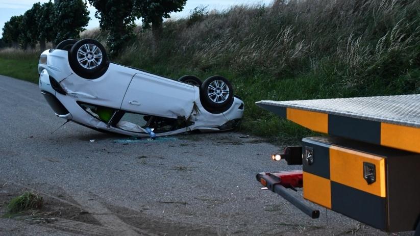 Bestuurder ongeluk Poortvliet reed onder invloed.