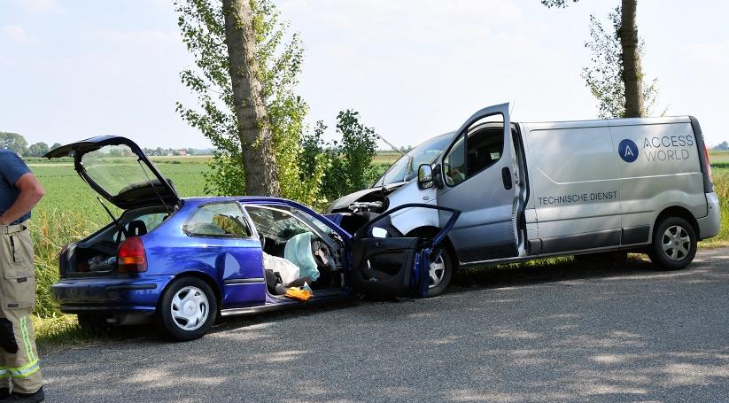 Gewonden bij ernstig ongeluk in Driewegen.