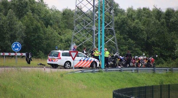 Motorrijders gewond bij botsing Nieuwdorp.