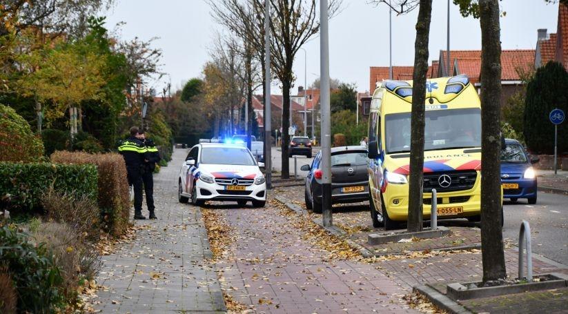 Gewonde bij aanrijding in Vlissingen.