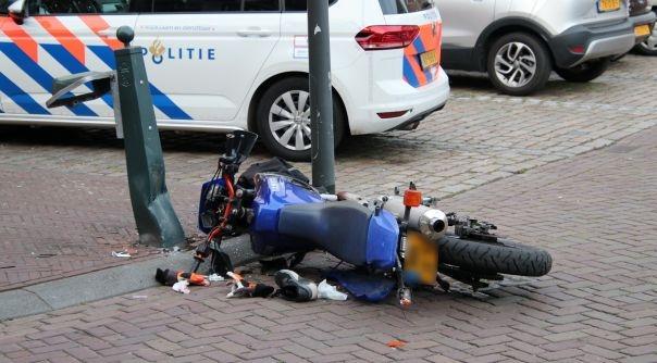 Motorrijder gewond bij ongeluk in Hulst.